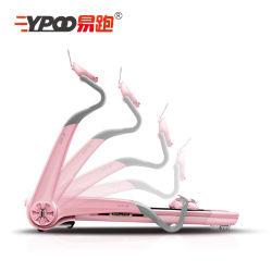 La marche de la machine électrique Ypoo Accueil Mini-machine de course sur tapis roulant de conditionnement physique