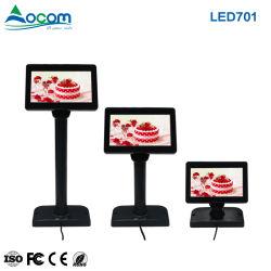 7 LED USB supermercados POS Cliente Tela do visor