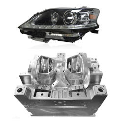 Multi haute précision de la cavité de moulage par moulage par injection plastique moule l'éclairage automobile