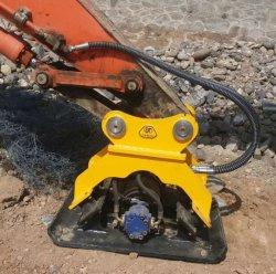 건설 장비 굴삭기 백호 Digger 유압 진동기 플레이트 콤팩터 판매
