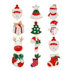 2020 Fashion аксессуары Рождество дар Рождество сплава Brooch, Рождество эмаль штифта