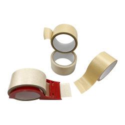 Kraft 종이 패킹 테이프 주문 테이프에 의하여 강화되는 Kraft 산업 감싸는 종이 테이프
