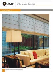 Motorizadas personalizados de alta qualidade, cortinas de protecção solar Rolo de tecido persianas/ Vidros Manual Estores Romana / Persianas