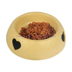 Artículos para mascotas Dog Bowl Cuenco de Arroz recipiente único amor de plástico
