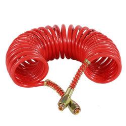 """Tubo da bobina do freio de ar tipo americano tubo espiral peças do veículo 12 pés vermelho e azul conjunto tubo de Nylon Duplo PA12 1/2"""""""