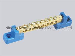 FT029 PA Connecteur de masse en laiton avec réglage de carrés blocs de jonction