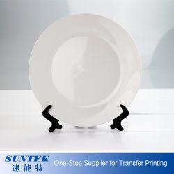 Gute Qualität 10 Zoll-volle Drucken-weiße überzogene Platten-keramisches Platten-Sublimation-Drucken