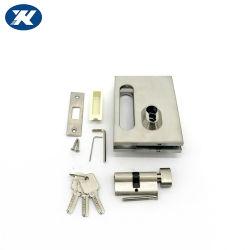 튼튼한 스테인리스 Frameless 유리제 중앙 자물쇠