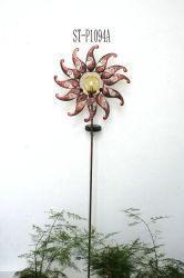 معدن تصميم زهرة شمعيّة حديقة وتد