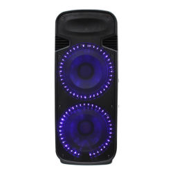 Twee-weg dubbele 15-inch Professional Audio DJ Cardspeaker Bluetooth