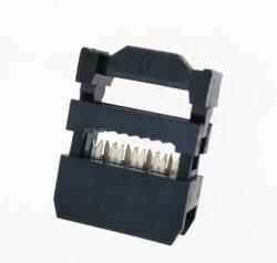 Fiche femelle CAD 2,54 mm Connecteur Connecteur IDC de décharge de traction