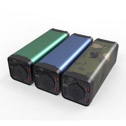 携帯電話ラップトップ充電器 AC コンセント付きジャンプスターター 充電器を搭載しています