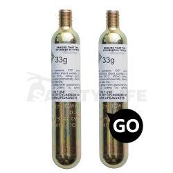 A vida de segurança o melhor preço 16g 33G 88g para o saco de ar de cartucho de CO2