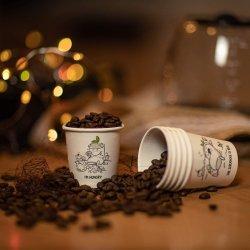 Прочная конструкция экологически безвредные высококачественный 4oz. Ванной чашки чашка кофе чашки кружки для горячей и холодной напиток производителя