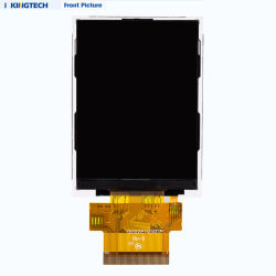 2.8inch 240X320 TN Ili9341V Spi RGB MCU Interface TFT Capacitive Display Touch LCD Screen