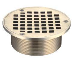 Die Nickel-Bronzen-Fußboden-Entwässerung, die von gebildet wird, Druckguß