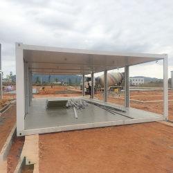 20 футов с плоским Pack больницы контейнер на место клиника готов в контейнер дома