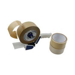 Nastro dell'imballaggio stampato abitudine di nastro di carta di nastro di carta regolare della carta kraft Del mestiere del Kraft con il marchio