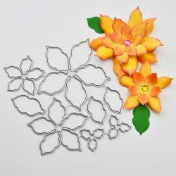 3D-цветок бумаги Touch Zone металлической режущей умереть за подарок упаковка дома оформление Cardmaking