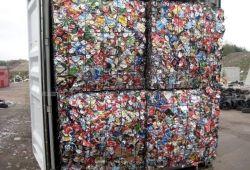 대량 재고 UBC 중고 음료 캔 알루미늄 파쇄 가격