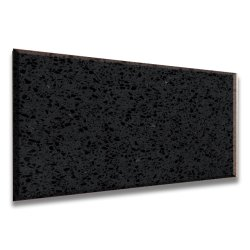 Le Quartz dalle de pierre pour une table de cuisine haut de page Cuarzo Negro