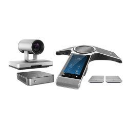 Yealink ZVC800 Zoom Kits de salas de conferência de vídeo incluem CP960 Conference Phone,UVC80 câmaras PTZ