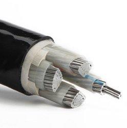 Des multi Kern-Aluminiumleiter-XLPE Energien-Kabel Nyy Isolierung Belüftung-der Hüllen-4X4