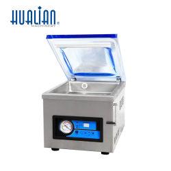 Hvc-260t/1A Hualian automatische Dichtungs-Maschinen-Beutel-Nahrungsmittelfleisch-Fisch-Reis-Frucht-Gemüse-einzelne Raum-Vakuumabdichtmasse