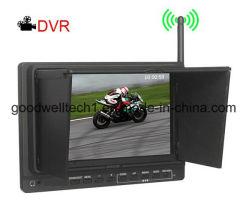 Monitor de la cámara de 7 pulgadas para la seguridad del hogar, construido en el DVR