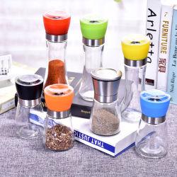 Le verre de sel ou de moulin à poivre Corps en verre bouteille d'assaisonnement