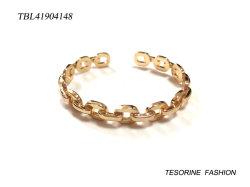Il metallo semplice dei monili di modo del regalo delle nuove donne di disegno collega il polsino del braccialetto