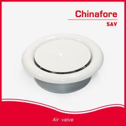 Воздушный клапан диска потолок круглые вентиляционные металлический выпускной воздушный диффузор