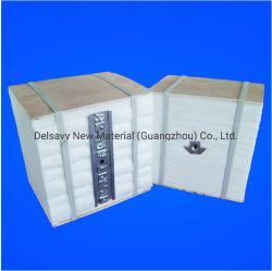 Refraktärer industrieller keramische Faser-Falz-Block für fixierenden Glasbrennofen