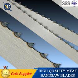 1650mmx16X0.5X4t Blad het van uitstekende kwaliteit van de Lintzaag van het Voedsel Voor Vlees en Been