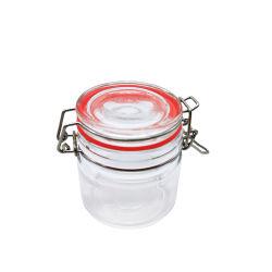 El almacenamiento de alimentos de mejor venta 100ml tarro de mermelada de vidrio con tapa