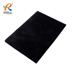 Tissu de coton de gros de percer la toile tissu ordinaire
