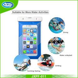 Carcasa impermeable reforzado resistente al agua Universal Celular bolsa seca funda para Apple iPhone 7 6 5 para Samsung S8 S7 S6