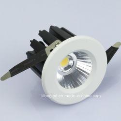 9Wクリー族の穂軸Dimmable LEDはセリウムRoHSが付いているLEDの外部ドライバーとつく
