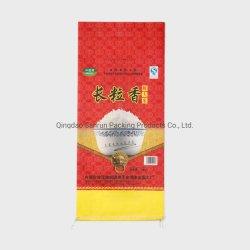 10kg sac de riz avec tissu Non-Woven Laminaiton