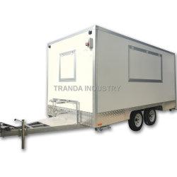 Rimorchio mobile standard incluso dell'alimento di vetro di fibra di nuovi 2019 Food Truck Van Package Australia
