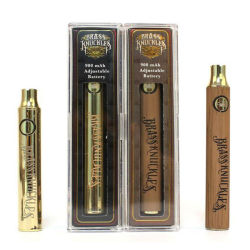 熱い販売のVapeのカートリッジペン900mAh 510 Cbd真鍮のKnuckless電池