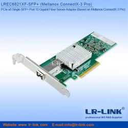 3.0 PCIE X8 seul port SFP+ 10 Adaptateur serveur Gigabit Mellanox Connectx-3 PRO carte LAN 10g