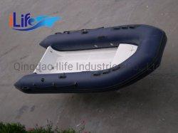 Ilifeの新しいモデルの肋骨360の販売のための堅い外皮のガラス繊維の膨脹可能な漁船