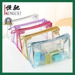 De in het groot Duidelijke MultiZak van de Reis van pvc van de Kleur Plastic Kosmetische