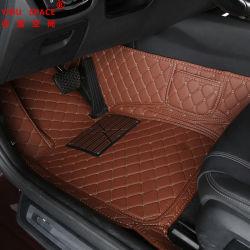 Ventes chaud spécial cuir personnalisée 5D anti-patinage voiture Pad