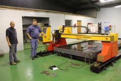 Fabricação de chapas metálicas de Plasma CNC e máquina de corte de chamas