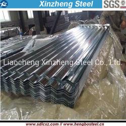 Papelão ondulado de aço galvanizado para coberturas Folha ou material de construção