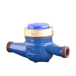 Dn20mm 3/4 de polegada commedidor de água deferro fundido a ShellISO4064Conectores BSPTmetros