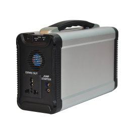 ポータブル 300W オフグリッドソーラーパワーシステム(ジャンプスターターおよびラーニングランプ付き)