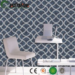 Carta da parati moderna del PVC 3D per la decorazione domestica
